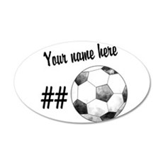 Soccer Art Wall Decal