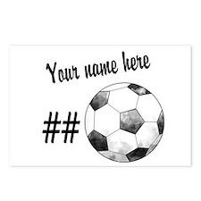 Soccer Art Postcards (Package of 8)