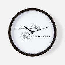 I Am Interpreter - Wall Clock