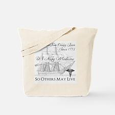 Saving Bones from Davey Jones II Tote Bag