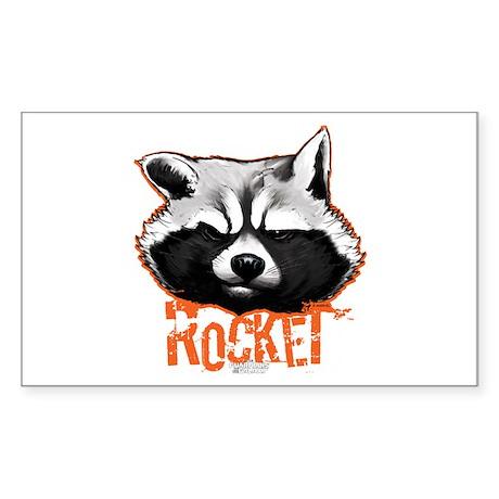 Rocket Sticker (Rectangle)