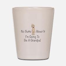 Baby Butt Grandpa To Be Shot Glass