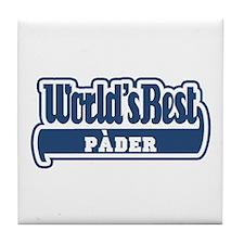 WB Dad [Bergamasco] Tile Coaster
