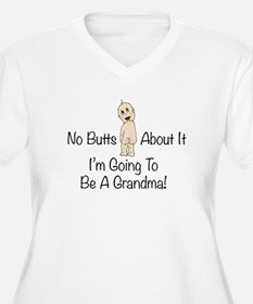 No Butts Grandma To Be Plus Size T-Shirt