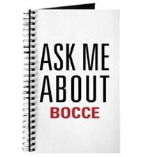 Bocce - Ask Me About Journal