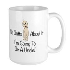 Baby Butt Uncle To Be Mugs