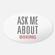 Boxing - Ask Me About Decal