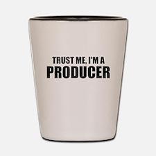 Trust Me, I'm A Producer Shot Glass
