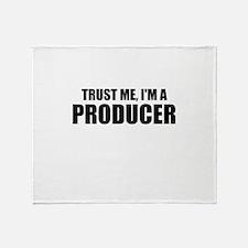 Trust Me, I'm A Producer Throw Blanket