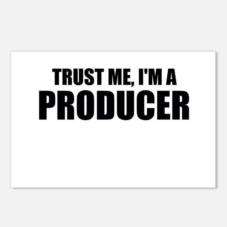 Trust Me, I'm A Producer Postcards (Package of 8)