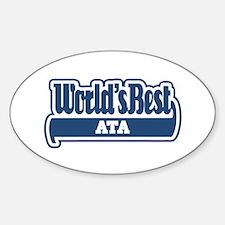 WB Dad [Azeri] Oval Decal