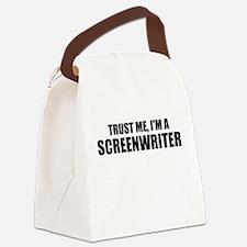 Trust Me, I'm A Screenwriter Canvas Lunch Bag