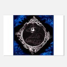 Phantom (Blue) ~ Postcards (Package of 8)