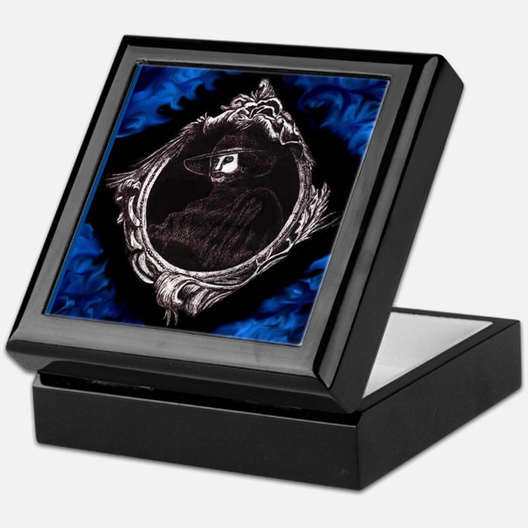 Phantom (Blue) ~ Keepsake Box