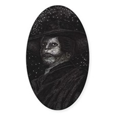 'Angel of the Night' ~ Oval Decal