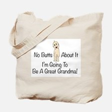 Baby Butt Great Grandma To Be Tote Bag