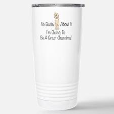 Baby Butt Great Grandma To Be Travel Mug