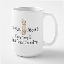 Baby Butt Great Grandma To Be Mugs
