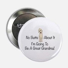 "Baby Butt Great Grandma To Be 2.25"" Button"