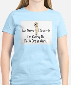Baby Butt Great Aunt To Be T-Shirt
