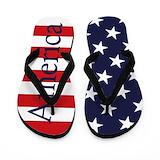 Americana Flip Flops