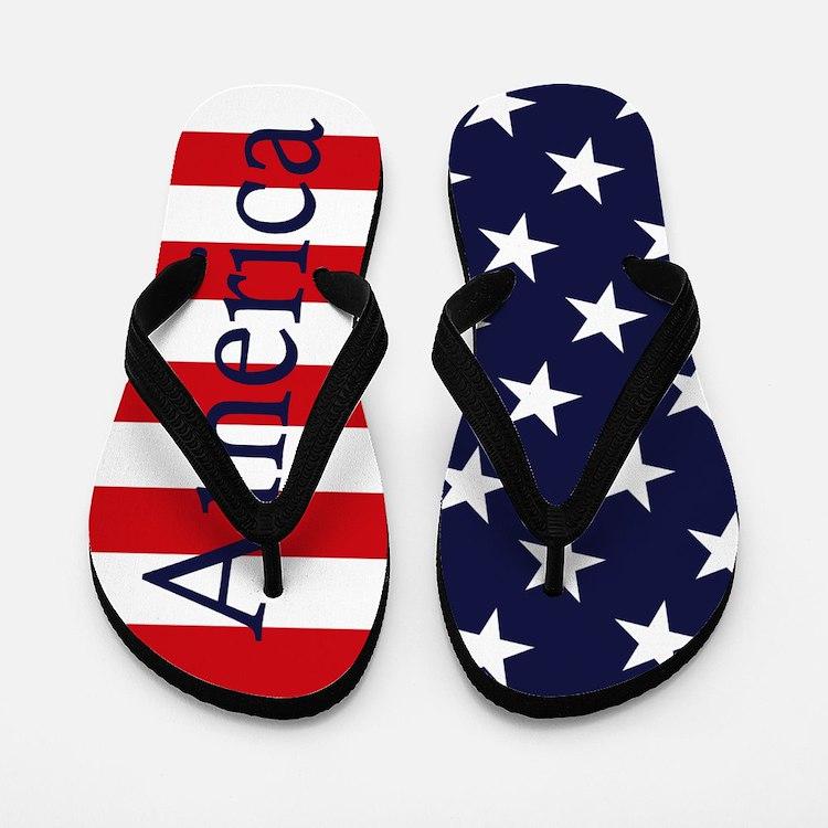 America Flip Flops