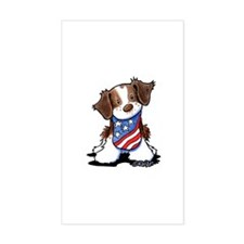 Patriotic Brittany Decal