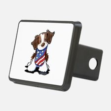 Patriotic Brittany Hitch Cover