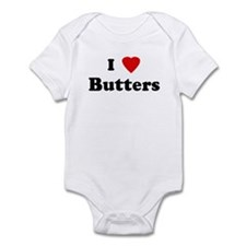 I Love Butters Infant Bodysuit