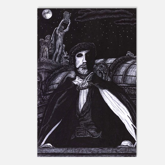 'Guardian of the Opera' ~ Postcards (Package of 8)