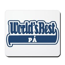 WB Dad [Asturian] Mousepad