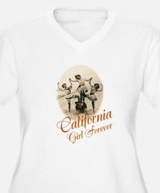 California Girl Forever Plus Size T-Shirt