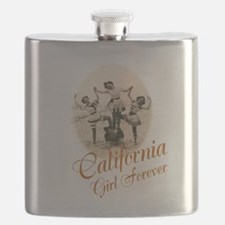 California Girl Forever Flask