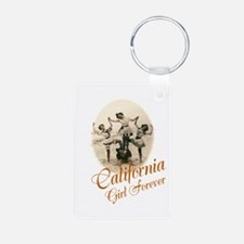 California Girl Forever Keychains