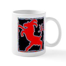 Year of The Goat Sheep Abstract Mug