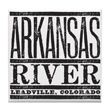 River Running Tile Coaster