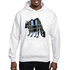 Plaid Raccoon Hoodie