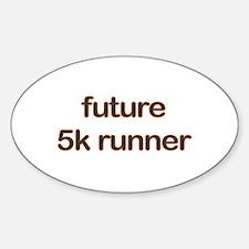 Future 5k Orange Decal