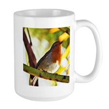 Red Robin bird Mugs
