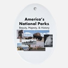 America's National Parks Oval Ornament