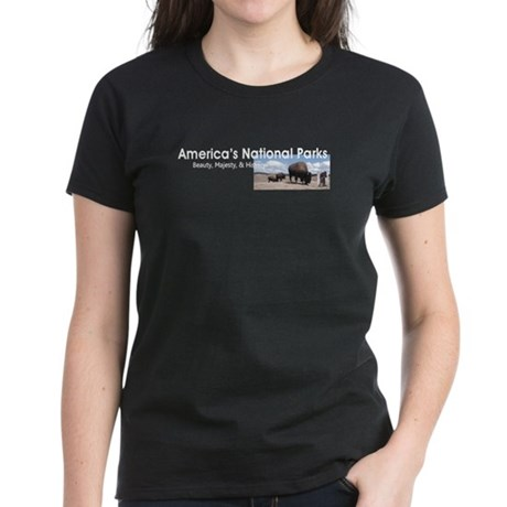 America's National Parks Women's Dark T-Shirt