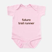 Future Trailrun Orange Infant Bodysuit