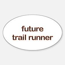 Future Trailrun Orange Decal