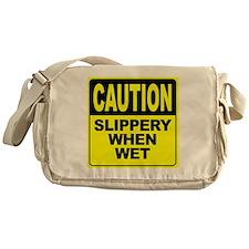 Slippery When Wet Messenger Bag