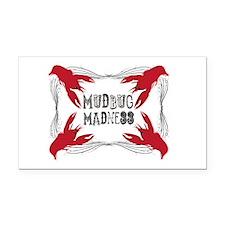 Mudbug Madness Rectangle Car Magnet