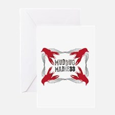 Mudbug Madness Greeting Cards