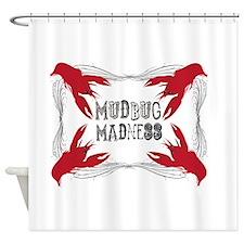 Mudbug Madness Shower Curtain