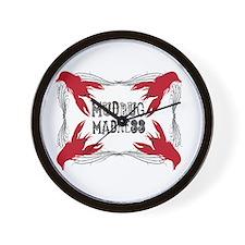 Mudbug Madness Wall Clock