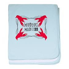 Mudbug Madness baby blanket