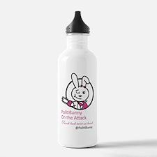 PolitiBunny Attacks Water Bottle